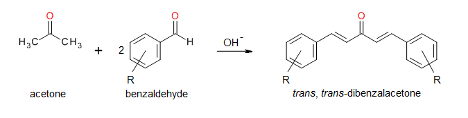 the aldol condensation synthesis of dibenzalacetone essay
