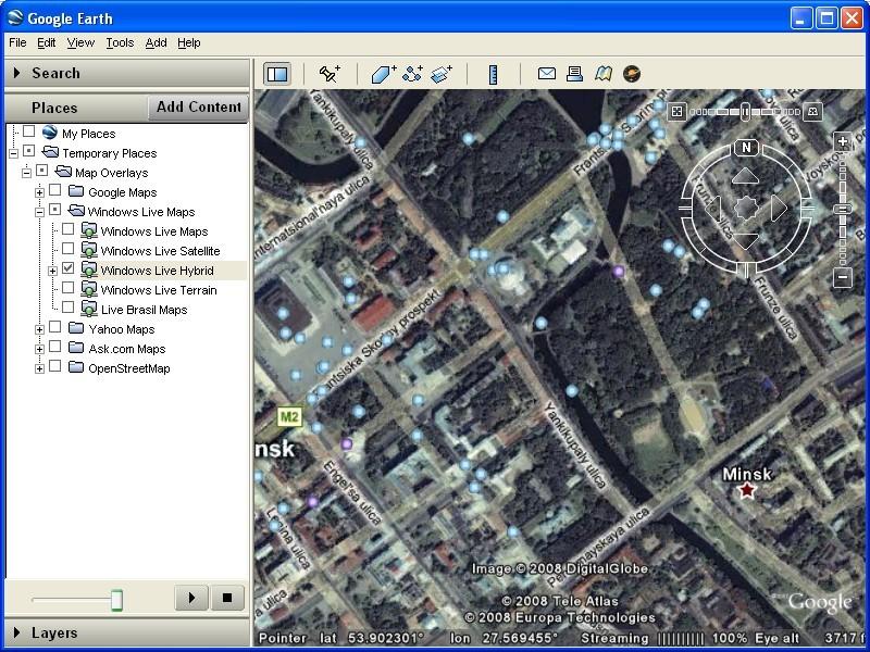 Google earth map downloads free